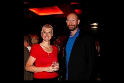 The BFI's Helen de Witt and Tim Smith